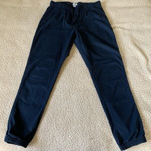"Old Navy Pants - Old Navy Jogger in ""Ink Blue"" Medium Only Worn 1X"